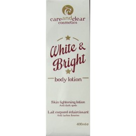careandclear White and Bright lait corporel éclaircissant