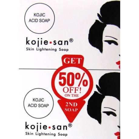 Kojie-san skin lightening soap double pack
