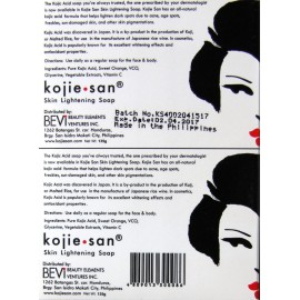 Kojie-san skin lightening soap double pack