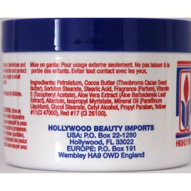 hollywood beauty cocoa butter skin creme with
