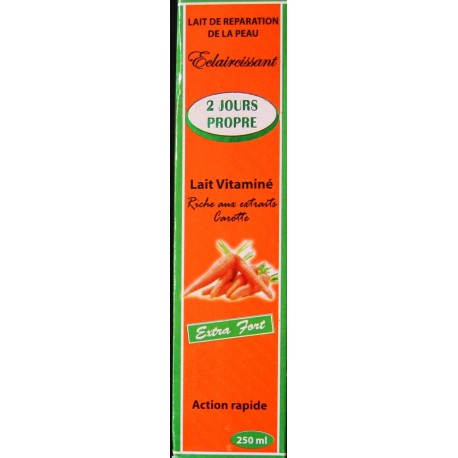 savon 2 jours propre carotte avis