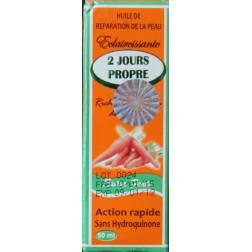 2 jours propre huil carotte