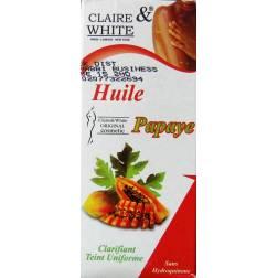 claire & white oil papaya