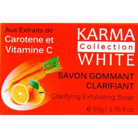 karma collection white savon gommant
