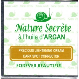Nature Secrète precious lightening cream dark spot corrector