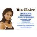 Bio Claire savon de soin éclaircissant