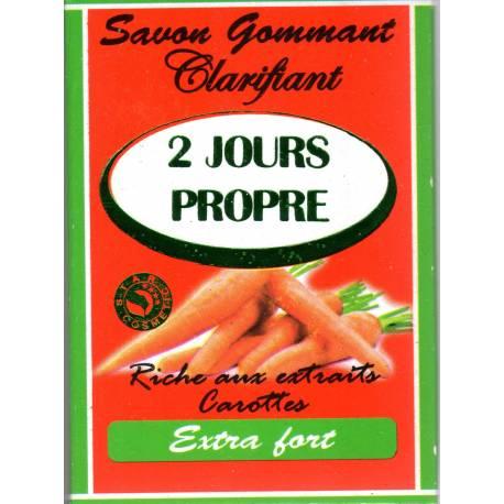 savon 2 jours propre carotte