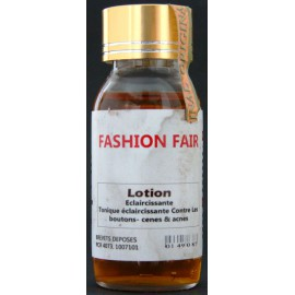 Fashion Fair lightening lotion