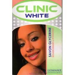 Clinic White savon glycériné éclaircissant et hydratant