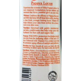 Silka skin whitening papaya lotion
