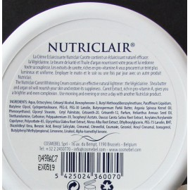 Nutriclair carrot clarifying and moisturizing cream day and night