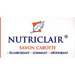 Nutriclair savon carotte
