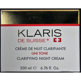 Klaris de Suisse clarifying night cream