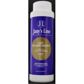 jany's line lightening milk A.H.A bearberry extracts & borage oil
