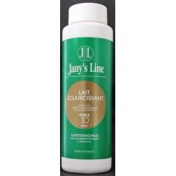 jany's line lait eclaircissant aux a.h.a.extraits de busserole et a l'huile d'dargan force 10
