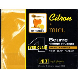 A3 4 ever clair visage et corps citron miel beurre
