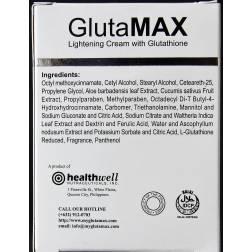 GlutaMAX lightening cream with glutathione