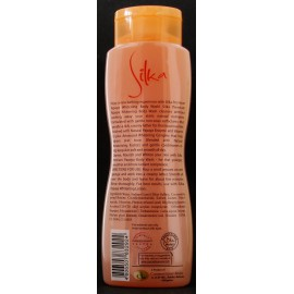 Silka whitening body wash with papaya (orange)