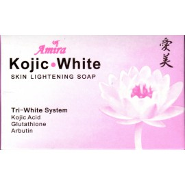 amira kojic white skin lightening soap
