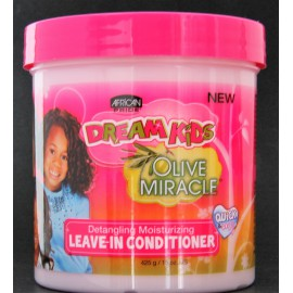 olive miracle detangling moisturizing leave-in conditioner