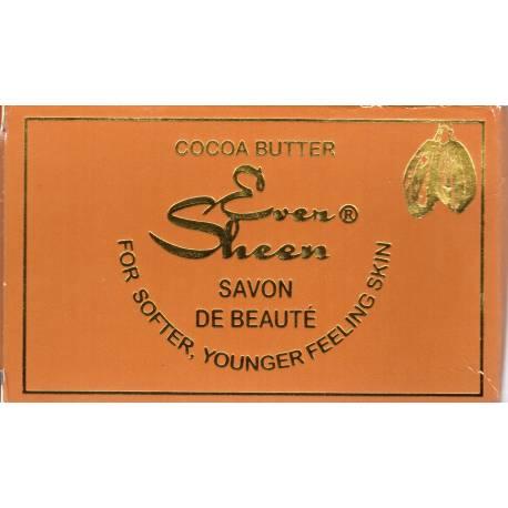 cocoa butter ever sheen savon de beauté
