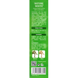 NATURE WHITE : Lait de Luxe à base de bave d'escargot