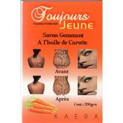 Toujours Jeune Savon Gommant A l'huile de Carotte