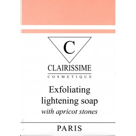 Clairissime Exfoliating lightening soap with apricot stones