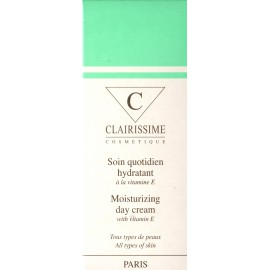 Clairissime Moisturizing day cream with vitamin E