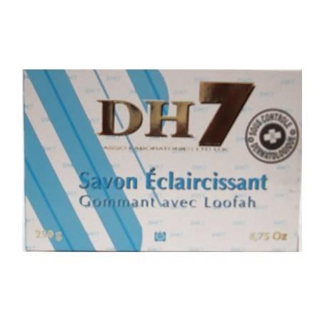 DH7 Bleu Savon éclaircissant Gommant avec LOOFAH