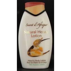 Secret d'Afrique Natural Honey Lotion - hand and body lotion