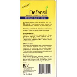 Defensil Pimple Defense cream - crème anti-boutons