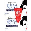 Kojie San Dream White savon anti-vieillissement - pack 2 savons