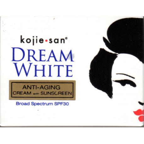 Kojie San Dream White Crème anti-vieillissement avec filtre solaire