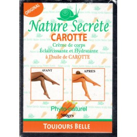 Nature Secrète Carrot Body Cream