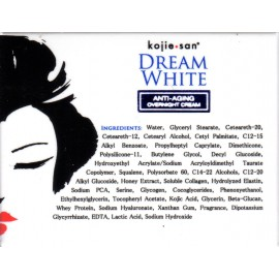 Kojie San Dream White Crème de nuit anti-vieillissement