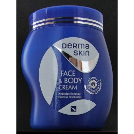Derma Skin Face and Body Cream - Vitamin E