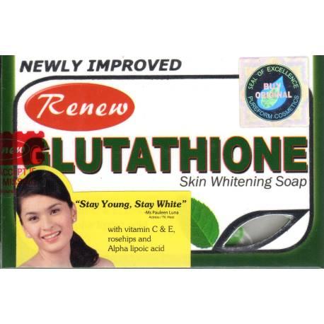 savon eclaircissant glutathione