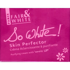 Fair&White So White! Skin Perfector Purifying cream with 'White UP'