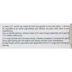 CT+ Clear Therapy savon clarifiant pureté aux extraits végétaux