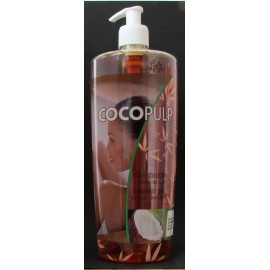 Cocopulp shower gel with coconut oil