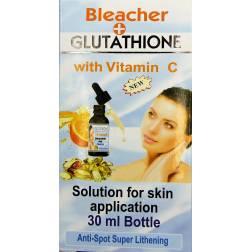 Glutathione  à la vitamine C  solution pour application cutanée