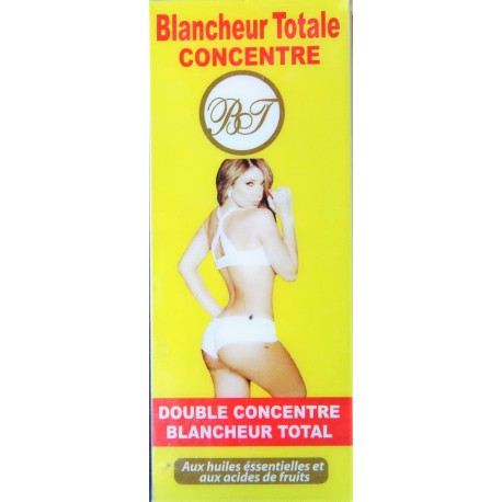 Blancheur totale concentré - Whitening concentrated