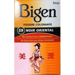 Bigen Poudre Colorante Noir Oriental 59
