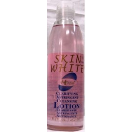 SKIN WHITE 3 in 1 clarifying astringent cleansing lotion