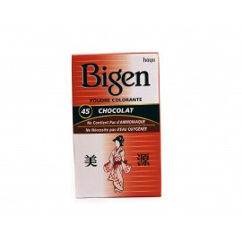 Bigen Permanent powder hair color Chocolate 45
