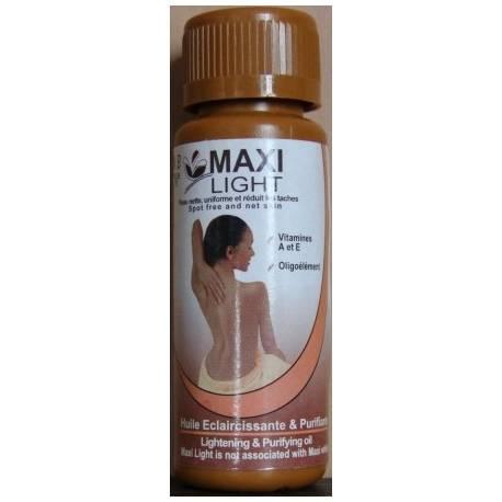 Maxi Light Huile éclaircissante et purifiante