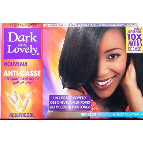 Dark and Lovely - Anti-casse défrisant sans soude - cheveux normaux