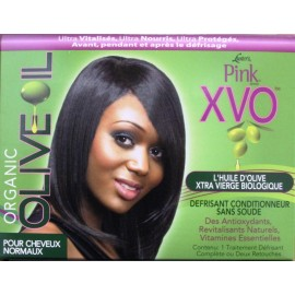 Luster's Pink Organic Olive Oil XVO pour cheveux normaux