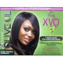 Luster's Pink Organic Olive Oil XVO relaxer for normal hair